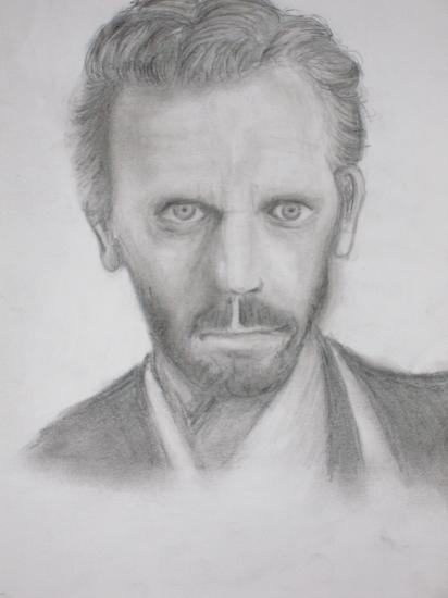 Hugh Laurie by svenni